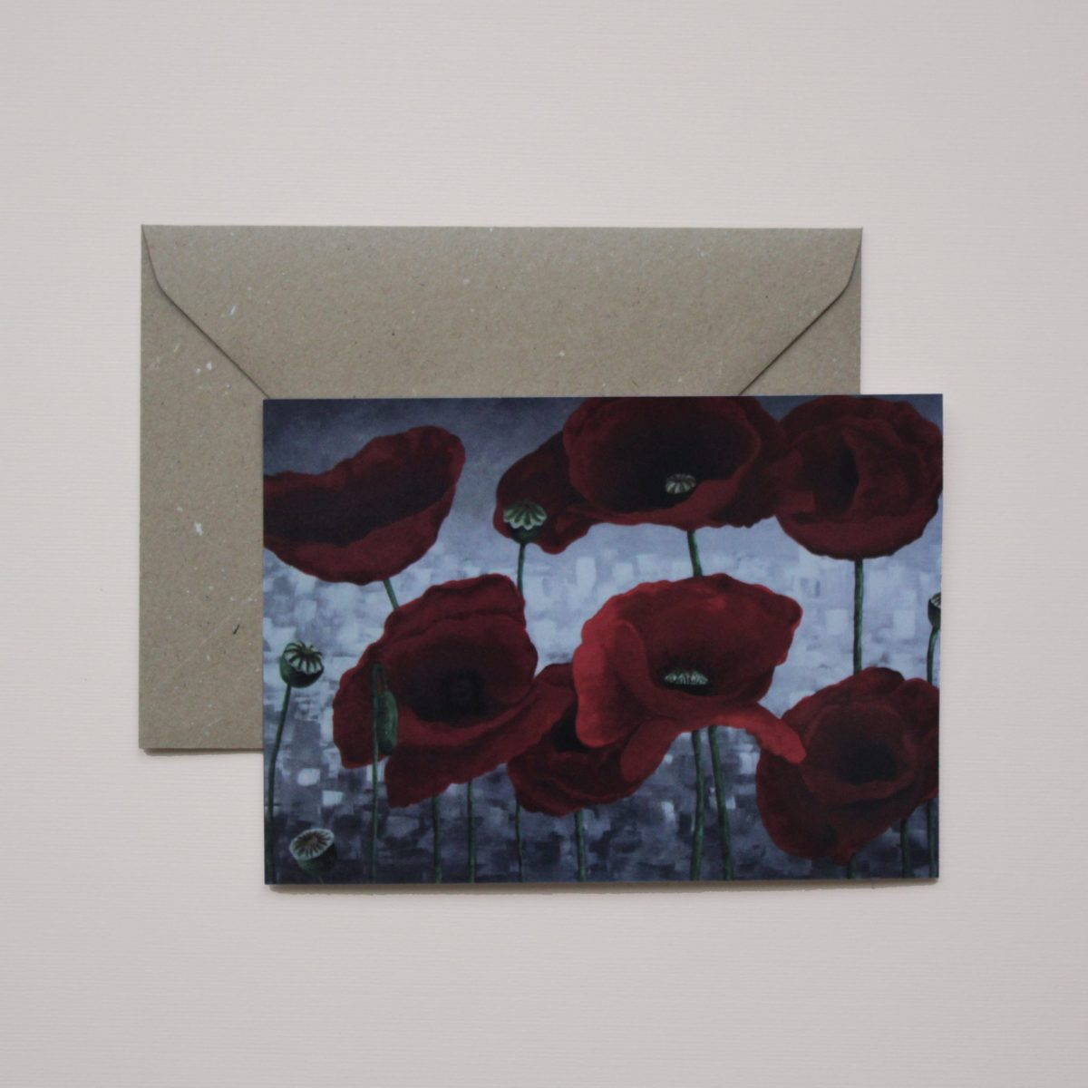 Kunstkaart - Poppies pt2